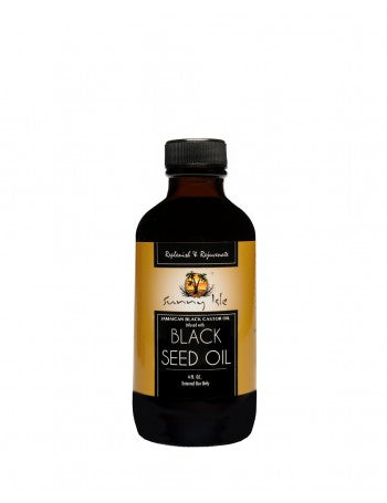 SUNNY ISLE JAMAICAN BLACK CASTOR OIL INFUSED WITH BLACK SEED OIL - 4OZ