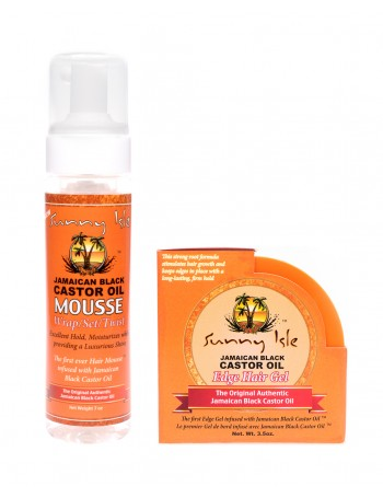 SUNNY ISLE EXTRA DARK JBCO AND ORGANIC ARGAN OIL BUNDLE