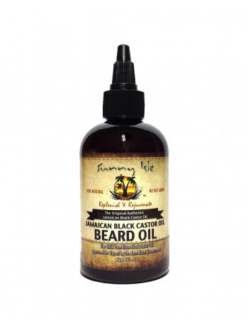 SUNNY ISLE JAMAICAN BLACK CASTOR OIL BEARD OIL & POMADE FOR MEN BUNDLE