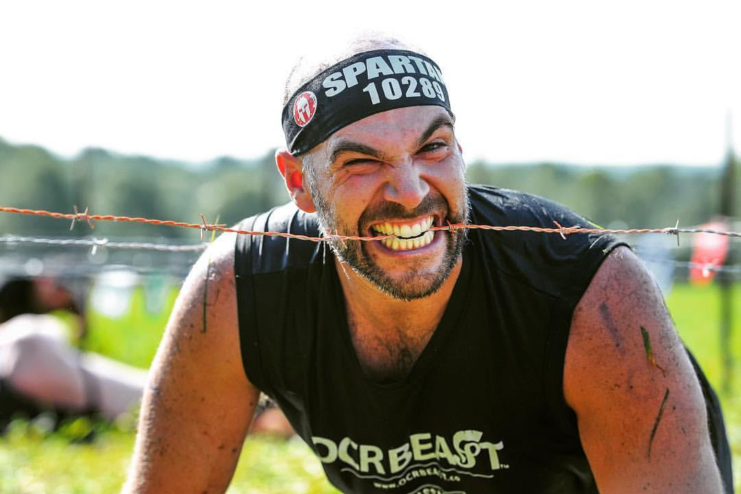 Spartan Race barbed wire obstacle