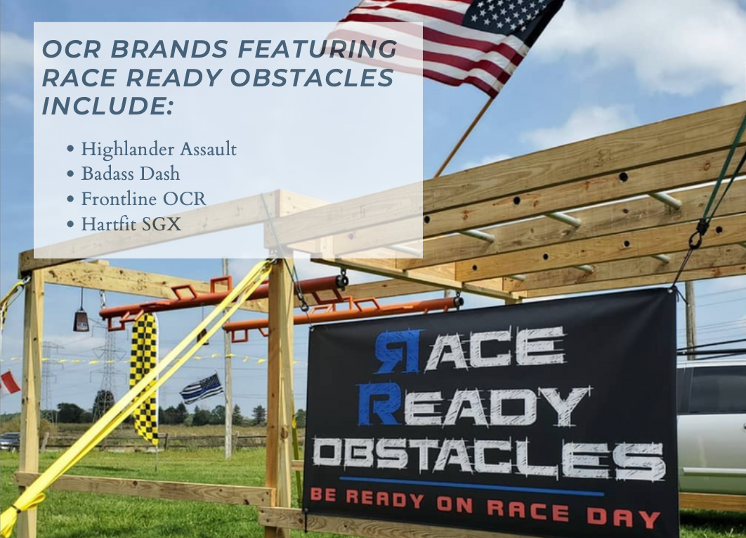 OCR companies featuring obstacles made by Race Ready Obstacles