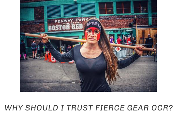 WHY SHOULD I TRUST FIERCE GEAR OCR? LINK TO ABOUT US PAGE