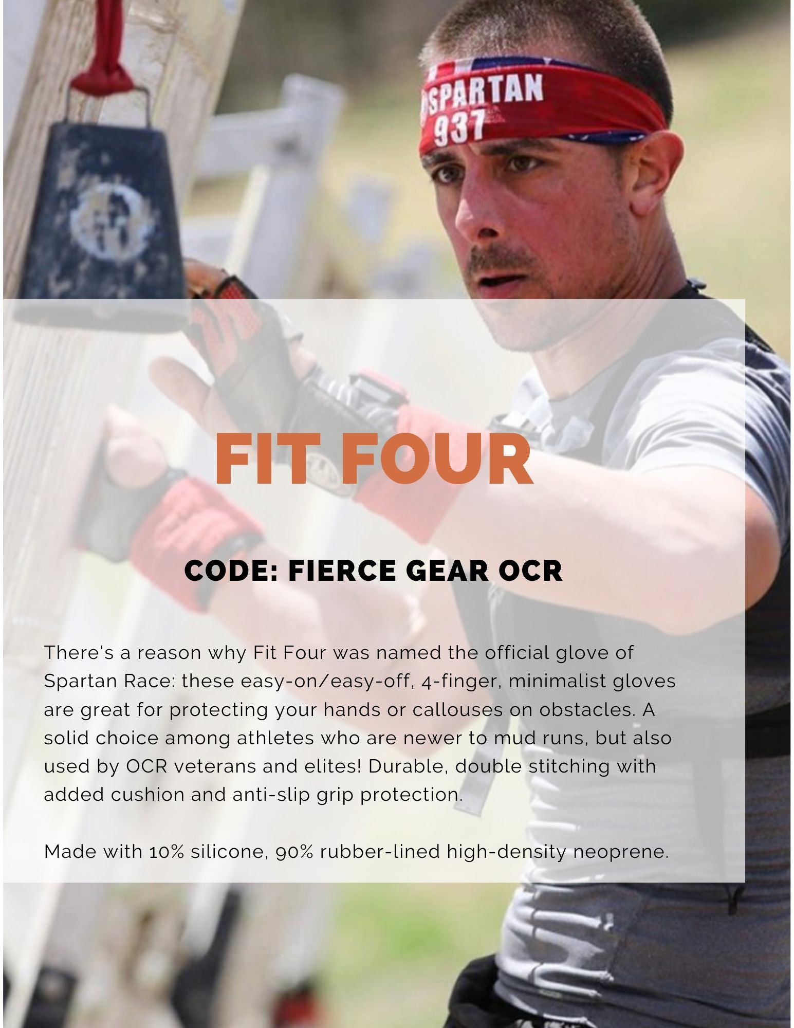 Fit Four discount code on Fierce Gear OCR