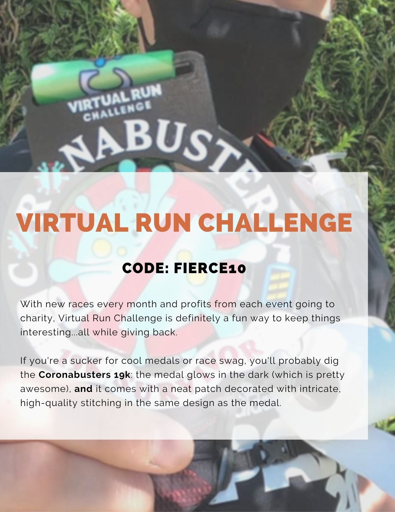 Virtual Run Challenge virtual races and events