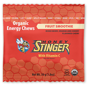 Honey Stinger Organic Energy Chew: Fruit Smoothie