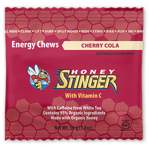 Honey Stinger Organic Energy Chew: Cherry Cola (Caffeinated)