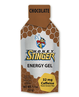 Honey Stinger Organic Energy Gel: Chocolate (Caffeinated)