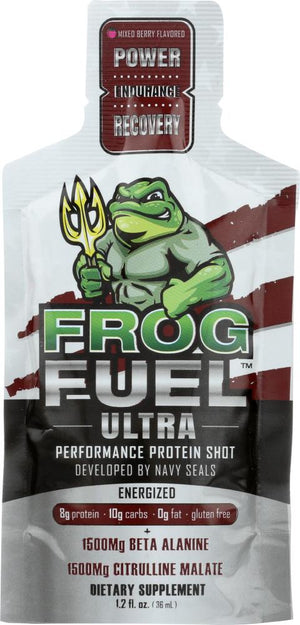 Frog Fuel Ultra Energized: Liquid Protein Shot