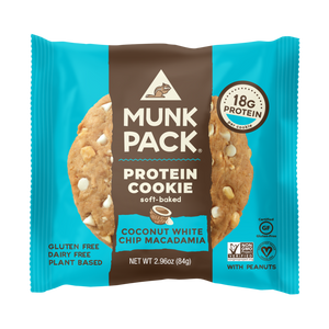 Munk Pack Protein Cookie: Coconut White Chip Macadamia