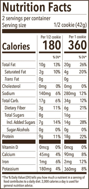 Munk Pack Protein Cookie: Double Dark Chocolate