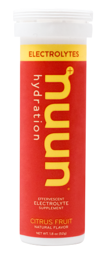 Nuun Electrolyte Tablets: Citrus Fruit