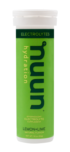 Nuun Electrolyte Tablets: Lemon+Lime