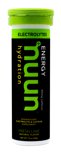 Nuun Electrolyte Tablets: Fresh Lime (Caffeinated)