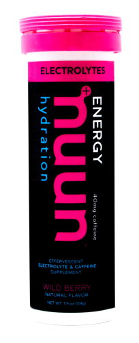 Nuun Electrolyte Tablets: Wild Berry (Caffeinated)