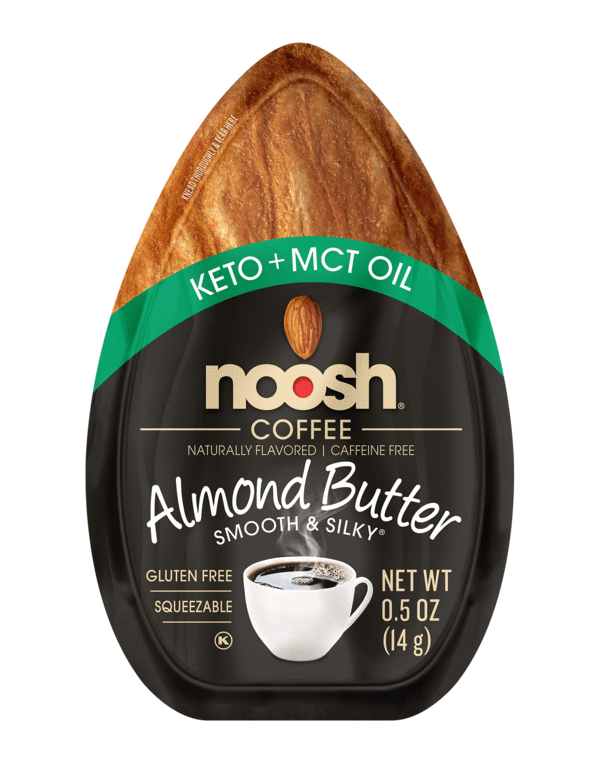 Noosh Almond Butter Packets: Keto Friendly With Added MCT Oil: Coffee