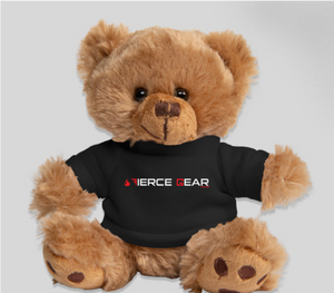 """Fierce"" Teddy: 6"" teddy bear wearing Fierce Gear OCR logo tee"