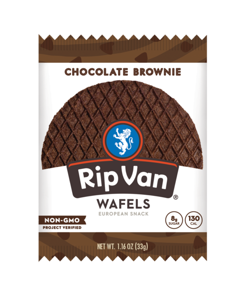 Rip Van Wafels: Chocolate Brownie
