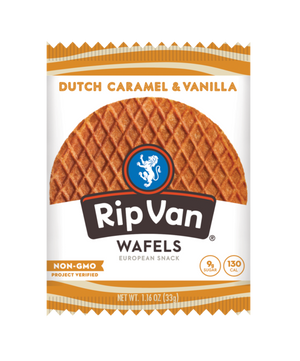 Rip Van Wafels: Dutch Caramel And Vanilla