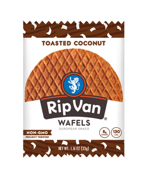 Rip Van Wafels: Toasted Coconut
