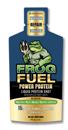 Frog Fuel Power Protein: Liquid Protein Shot