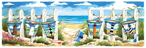 "Puzzle ""Carolina Beach Buckets"""