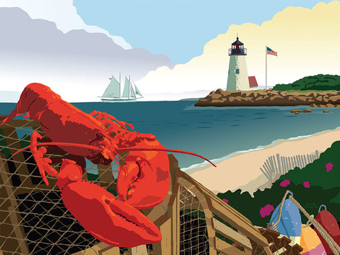 "Puzzle ""Lobster Harbor"""