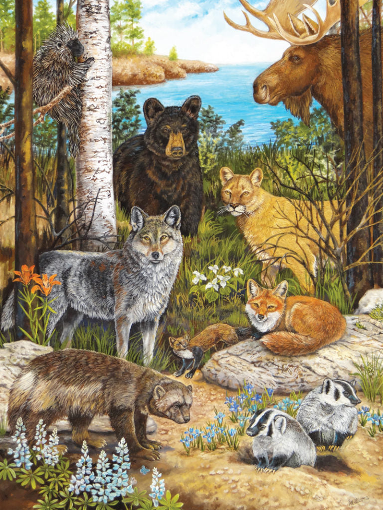 "Puzzle ""Forrest Friends"""