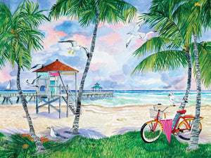 "Puzzle ""Bike to the Beach"""