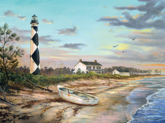 "Puzzle ""Sunset at Cape Lookout"""