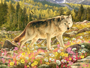 "Puzzle ""Lone Wolf"""