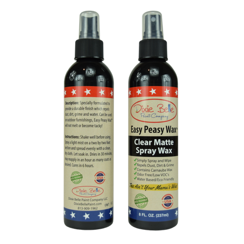 """Dixie Belle easy peasy wax spray"
