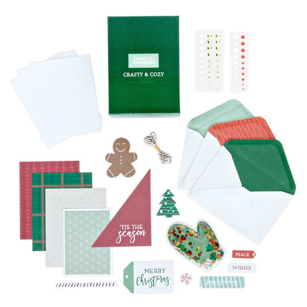 Sip & get carded christmas card class