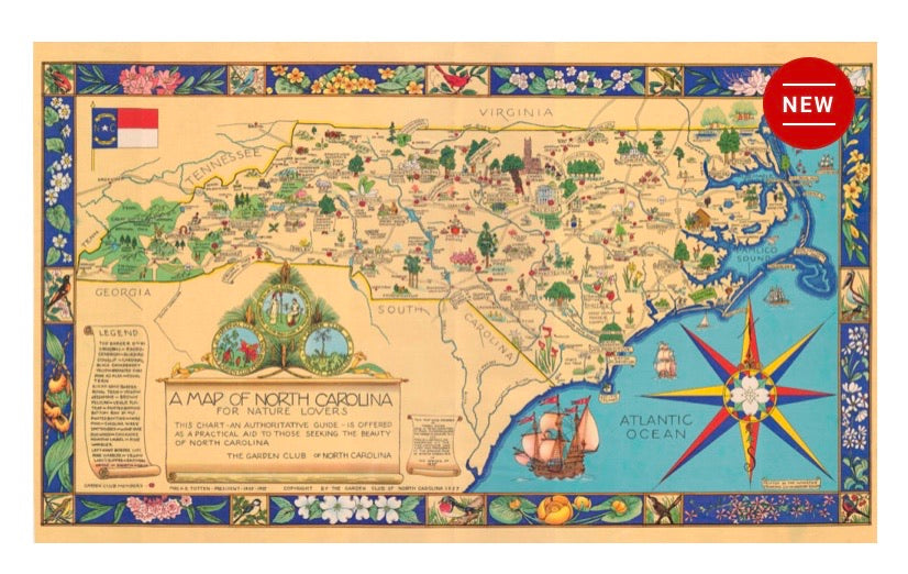 "Puzzle ""A Map of NC"""