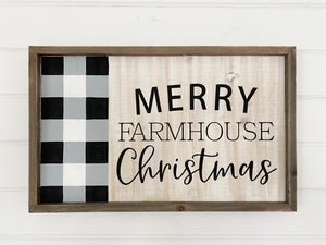 Merry farmhouse Christmas sign class