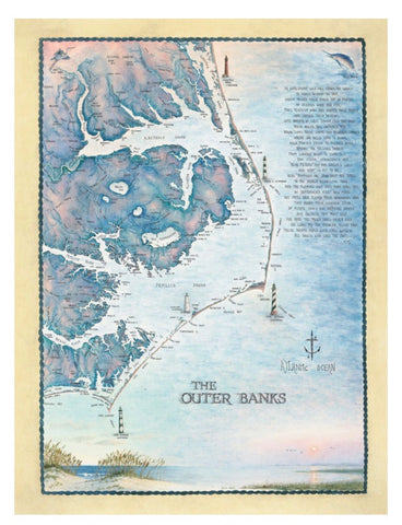 "Puzzle ""Outer Banks waterways"""