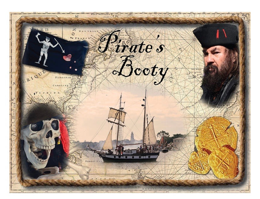 "Puzzle ""pirates booty"""