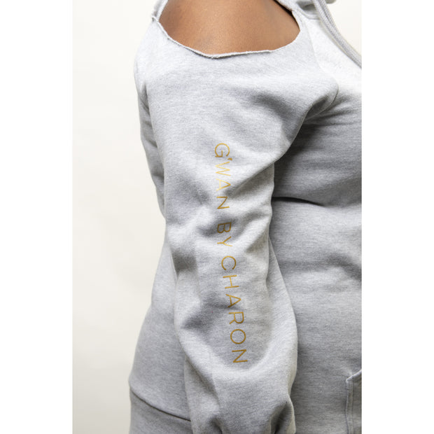 Breezy Side Tie Hoody
