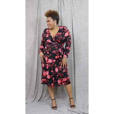 Kristy Wrap Dress