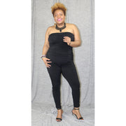 Eve Ruching Catsuit