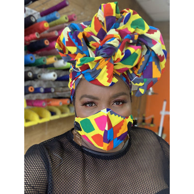 JaJa Face Fashions n Head wrap Sets