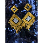 Makeba Fringe Earrings