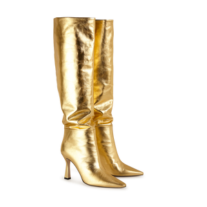 Lina Long Boot Gold