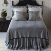Bella Notte Linens Adele Coverlet with Silk Velvet - Blue Springs Home