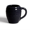 Bauer Beehive Coffee Mug in Black  Bauer Pottery Blue Springs Home- bluespringshome