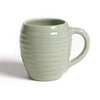 Bauer Beehive Coffee Mug in Dove Grey  Bauer Pottery Blue Springs Home- bluespringshome