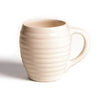 Bauer Beehive Coffee Mug in White Pottery Bauer Pottery Blue Springs Home- bluespringshome