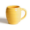 Bauer Beehive Coffee Mug in Yellow  Bauer Pottery Blue Springs Home- bluespringshome