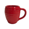 Bauer Beehive Coffee Mug in Poppy Red  Bauer Pottery Blue Springs Home- bluespringshome