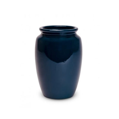 Bauer Pottery Fred Johnson #213 Vase in Moroccan Blue - Blue Springs Home