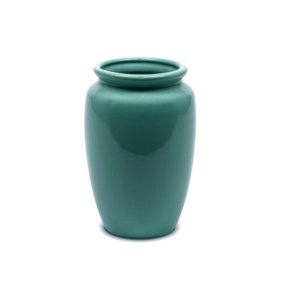 Bauer Pottery Fred Johnson #213 Vase in Turquoise Pottery Bauer Pottery Blue Springs Home- bluespringshome